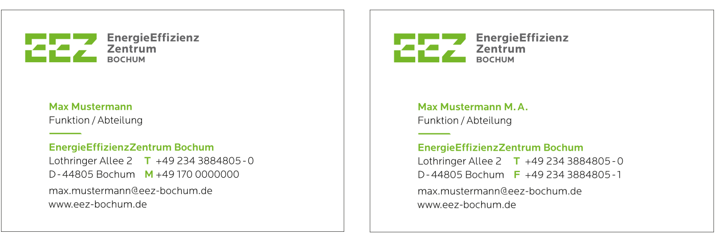 Energieeffizienz Zentrum Cd Marke Bochum
