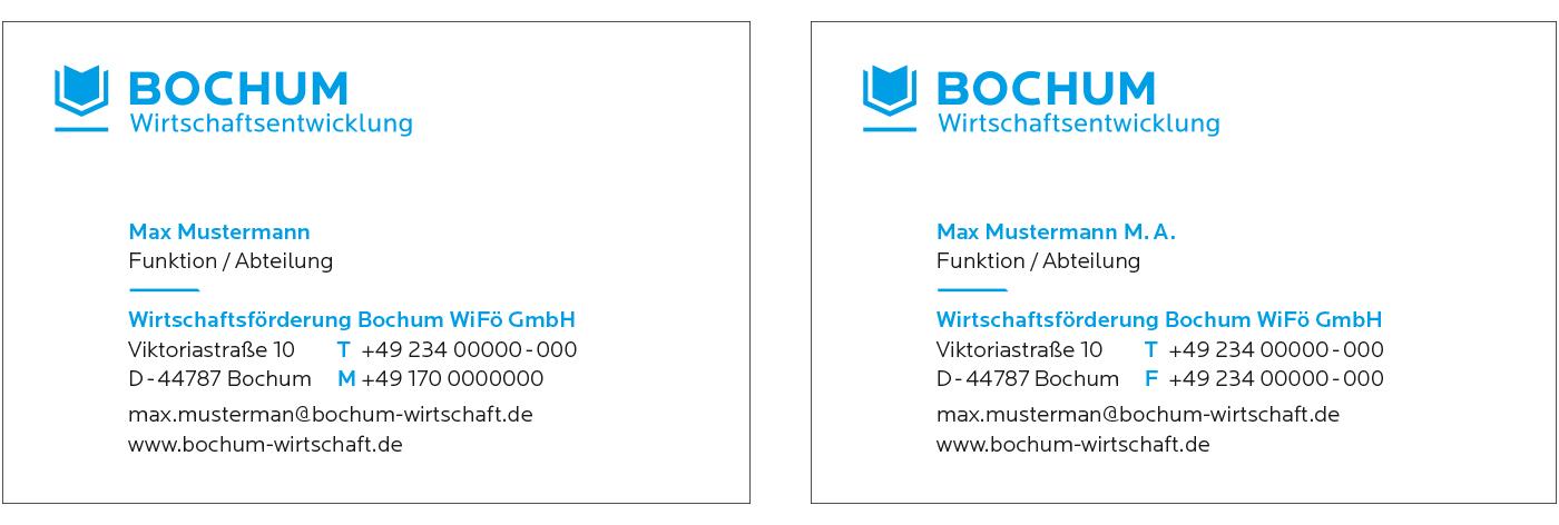 Bochum Wirtschaftsentwicklung Cd Marke Bochum